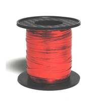 Metallic Red Curling & Balloon Ribbon (225m)
