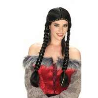 Braided Renaissance Wig - Black