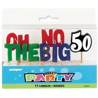 """Oh No The Big 50 Candles"""
