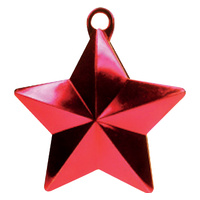 Star Balloon Weight - Red