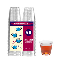 30ml Shot Glasses - Pack of 50