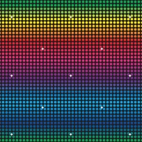 Disco Backdrop (1.2m x 9.1m)