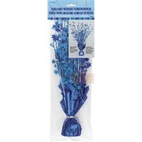 Blue Glitz Centrepiece with Stickers