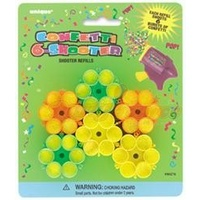 Confetti Shooter Refills - 8 cartridges (Pick Up Only)