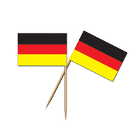 German Flag picks - Pk50