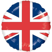 English Flag Foil Balloon