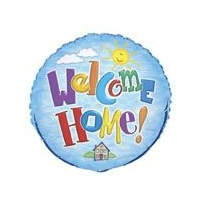 18in Welcome Home Foil Balloon