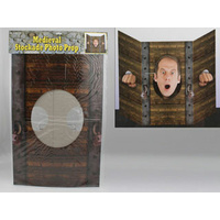 Medieval Stockade Photo Prop - 94 x 64cm