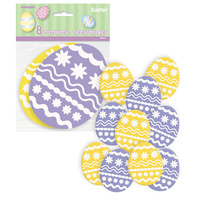 Mini Easter Egg Cutouts - Pk 10