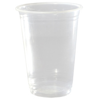 350ml Plastic Cups Clear - Pk 50