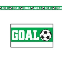 Goal (Soccer) Party Tape -6m*