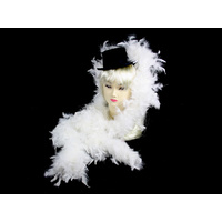 White Feather Boa - 2m