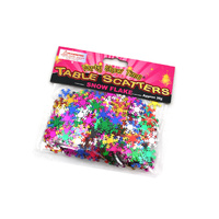 Snow Flake Scatters - Multi coloured - 30g