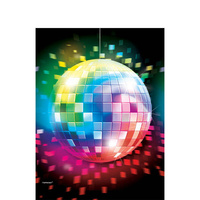 Disco Fever Rectangle Tablecover