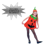 Halloween Pumpkin Kid Costume - M