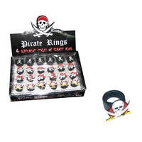 Pirate Skulls and Bones Rings
