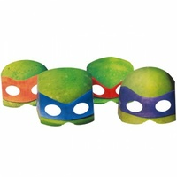 Teenage Mutant Ninja Turtles Masks - Pk 8