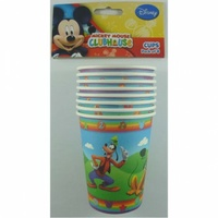 Mickey Mouse Clubhouse Paper Cups, - Pk 8