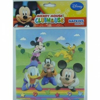 Mickey Mouse Clubhouse Napkins, - Pk 8