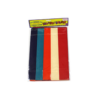 Tissue Paper - 5 colours