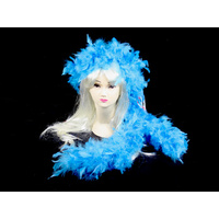 Sky Blue Feather Boa - 2m