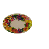 Fruit Design Moulded Platter