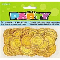Pirate Treasure Gold Coins - Pk30