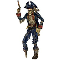 Jointed Pirate Skeleton - 182.9cm
