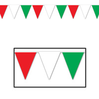 RWG Indoor/Outdoor Pennant Banner - 27.9cm x 365.8cm