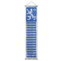 Indoor/Outdoor Oktoberfest Velvet-Lame Door Panel - 31cm x 144cm
