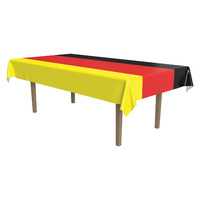German Plastic Rectangle Tablecover