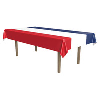 Patriotic Plastic Rectangle Tablecover