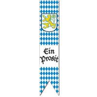 Jointed Oktoberfest Pull-Down Cutout - 182.9cm