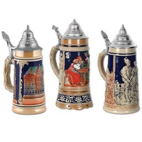 3 Beer Stein Cutouts