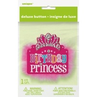 Birthday Princess Deluxe Badge