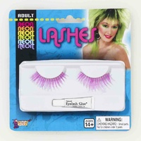 Neon Lashes-Purple