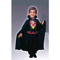 Child Black Cape 27""