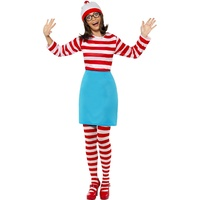 Wheres Wally? Wenda Costume - size S