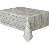 Rustic Wood Printed Rectangle Tablecover