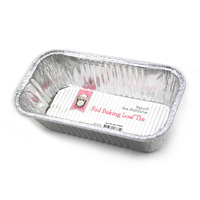 Foil Baking Loaf Tin - Pk 2
