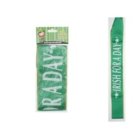 """Irish For a Day"" Sash"