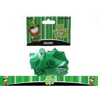 St Pats Day Balloons - Pk 8
