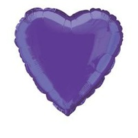 "Purple Heart 18"" Foil Balloon"
