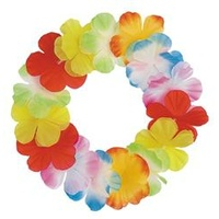 Luau multicoloured floral headband.