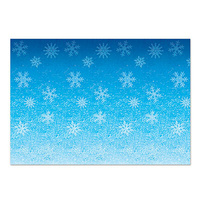 Frozen Snowflake Backdrop