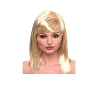Blondie Wig With Fringe