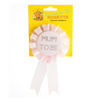 Mum to Be Pink Rosette