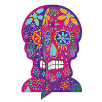 3-D Day Of The Dead Centerpiece*