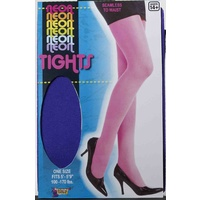 Neon Tights - Purple