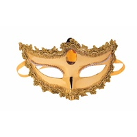 Gold Mask With Ties